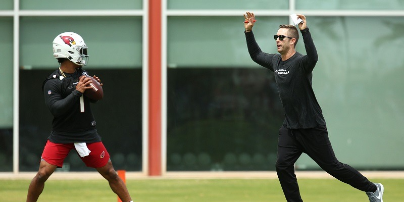 Kyler Murray and Kliff Kingsbury