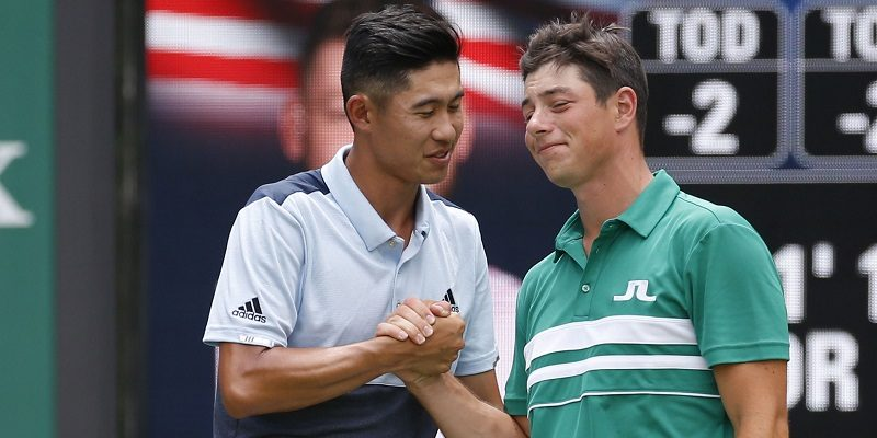 Collin Morikawa and Viktor Hovland