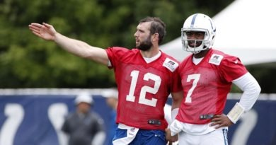 Tough Luck: Colts become longshots without QB