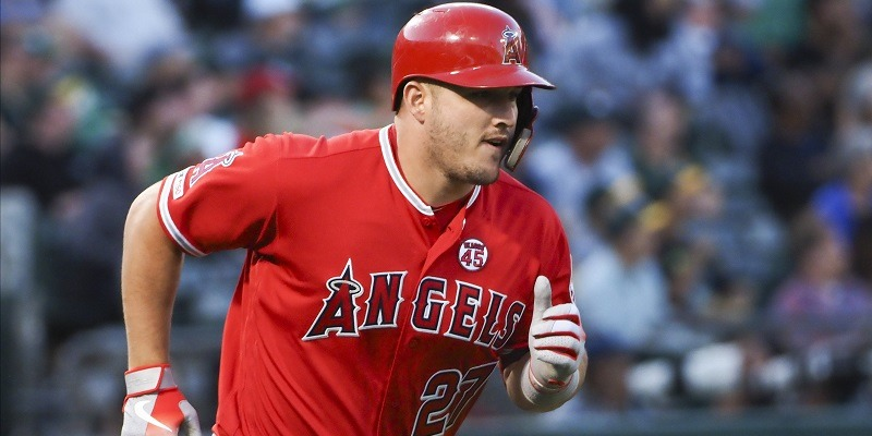 Mike Trout, MLB