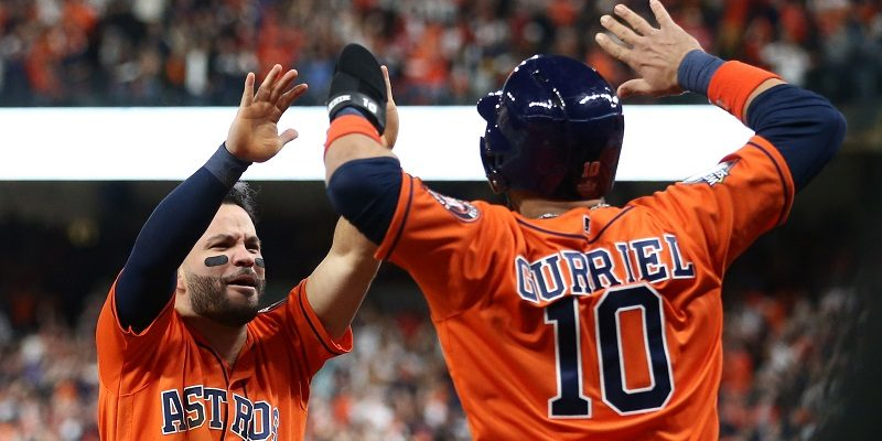 Yuli Gurriel and Jose Altuve