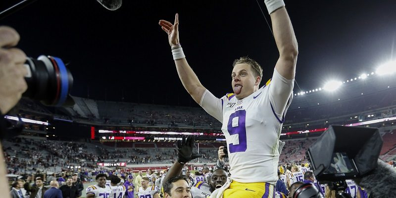 LSU, Joe Burrow