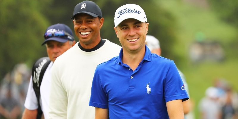 Tiger Woods, Justin Thomas