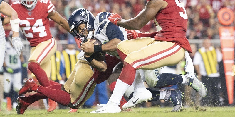 Seahawks, 49ers, Russell Wilson