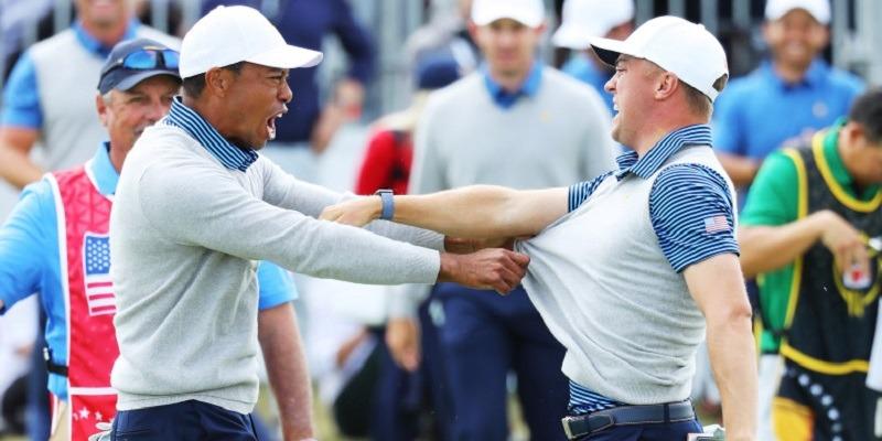 Tiger Woods, Justin Thomas