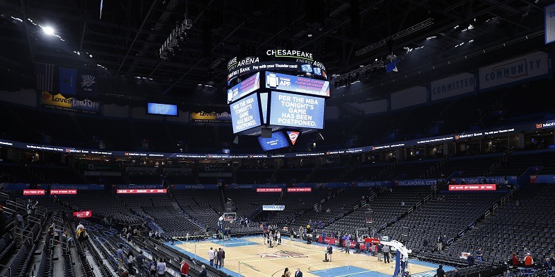 Chesapeake Energy Arena.