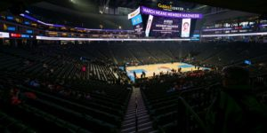 Golden 1 Center, empty arena