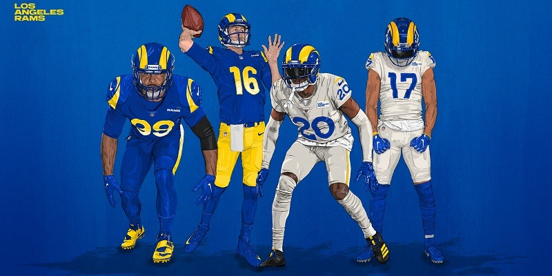 Los Angeles Rams, uniforms