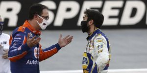 Joey Logano and Chase Elliott