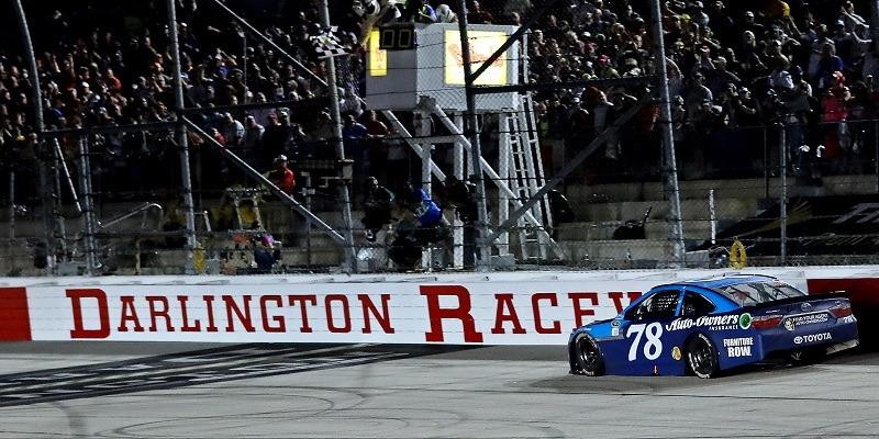 Martin Truex Jr., Darlington Raceway