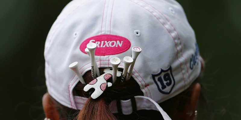 Lydia Ko, golf tees