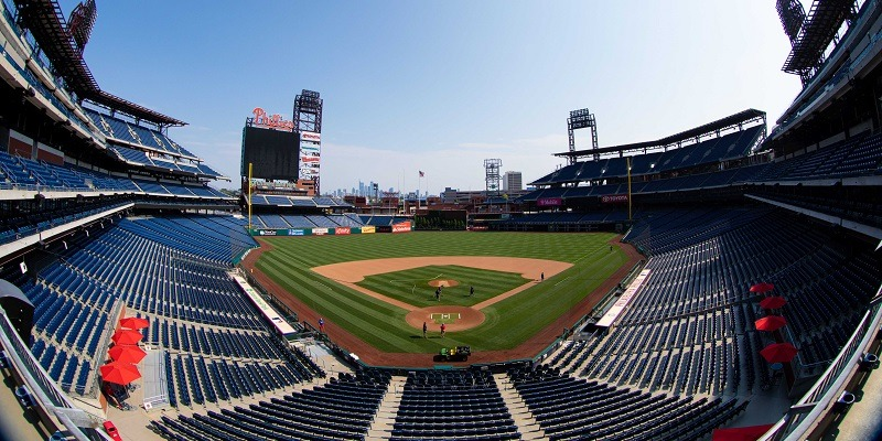Citizens Bank Park, coronavirus tests