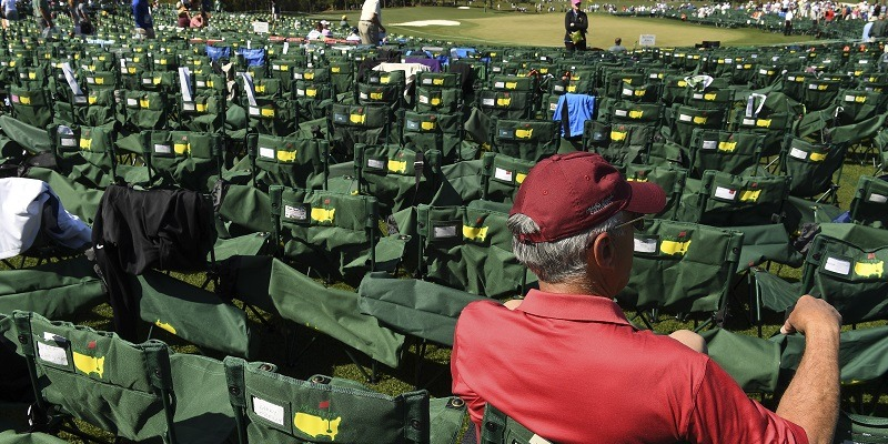 Augusta National, Masters, Patrons, fans