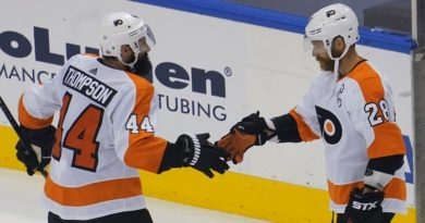 Claude Giroux, Nate Thompson