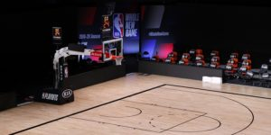 NBA, empty court,