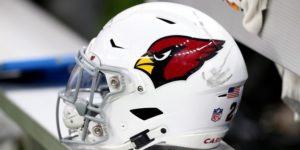 Arizona Cardinals helmet