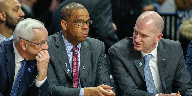 Roy Williams, Hubert Davis, Brad Frederick