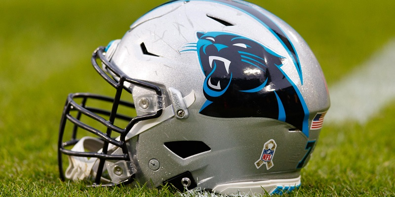 Carolina Panthers, helmet
