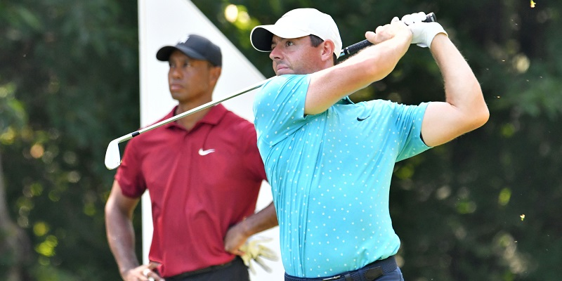 Tiger Woods, Rory McIlroy