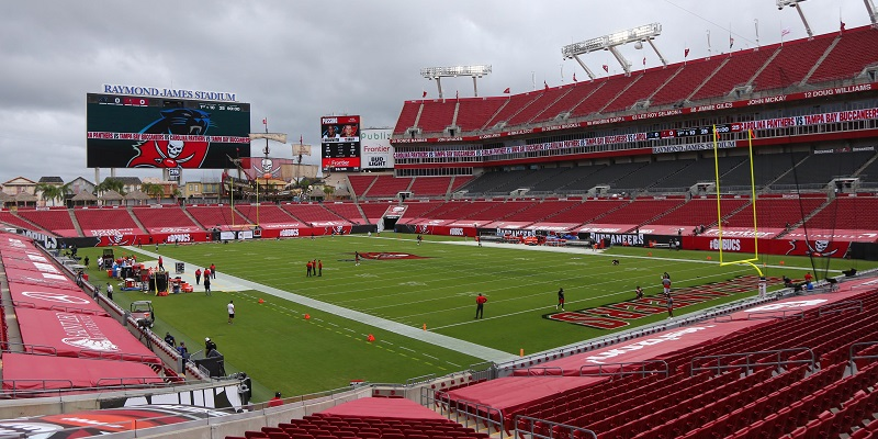Raymond James Stadium, Buccaneers