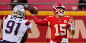 Deatrich Wise, Patrick Mahomes