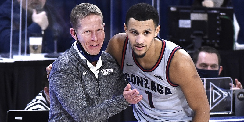 Mark Few, Jalen Suggs