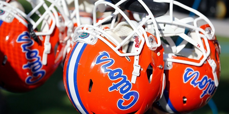 Florida Gators, helmet